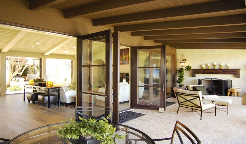 Patio and French Doors